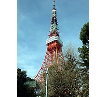 Tokyo Tower, March 2013 : Photo Friday at meauxtaku.com Photographic Print