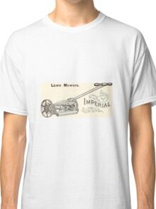 Old lawn mower poster Classic T-Shirt