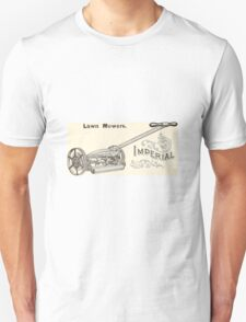 Old lawn mower poster Unisex T-Shirt