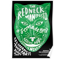 The Redneck Manifesto Pre Japanese Tour Party Galway 2011 Poster