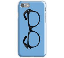 Geek Glasses iPhone Case/Skin