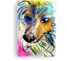 My Pal Plava Canvas Print