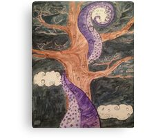 The Octopus and the Oak Tree  Canvas Print
