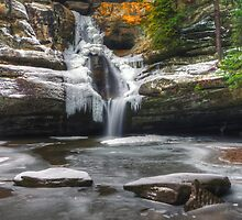 February at Cedar Falls by jimcrotty