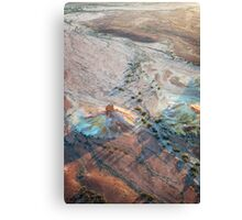 Early Morning Light: Painted Hills Canvas Print