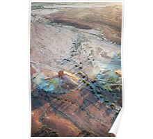 Early Morning Light: Painted Hills Poster