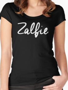ZALFIE zoella Alfie Deyes Viral Blog Vlogger Women's Fitted Scoop T-Shirt