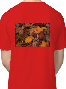 The Heart of the Leaf Grows Red Classic T-Shirt