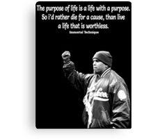 Purpose of Life Canvas Print