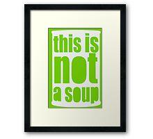 Warhol Magritte Framed Print