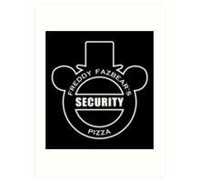 Freddy Fazbear's Security Art Print