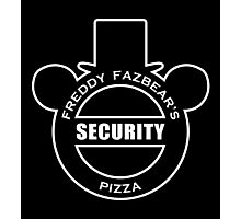 Freddy Fazbear's Security Photographic Print