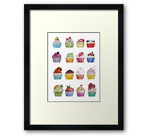 care for a cupcake? Framed Print