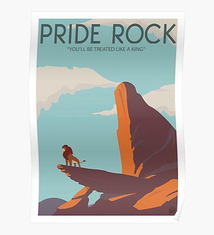 Pride Rock Poster Poster