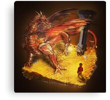 Lord of the Rings - The Hobbit - Smaug Canvas Print