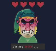 I´M NOT ZELDA! by Gerkyart
