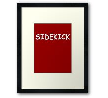 Sidekick outfit Framed Print