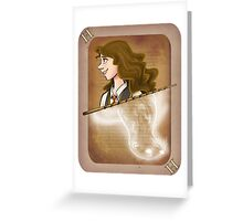 Hermione Granger Playing Card Greeting Card