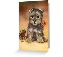Christmas Doggy Greeting Card