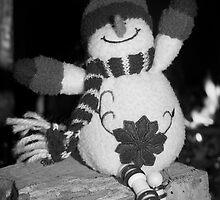 Happy Snowman by Lou Wilson