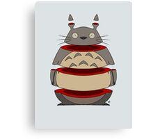 Sliced Totoro Canvas Print