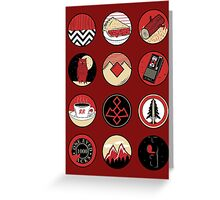 Iconic: Twin Peaks Greeting Card