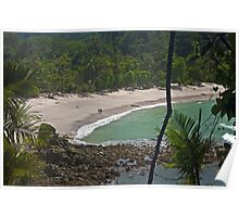 Manuel Antonio Beach. Poster