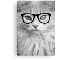 Hippest Cat Canvas Print