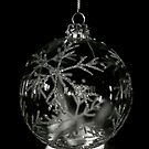 Snowflake Bauble by Lou Wilson