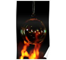 Fireside Bauble. Poster