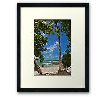 Manuel Antonio Beach2. Framed Print