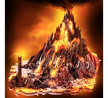 Lord of the Rings - Mount Doom Photographic Print