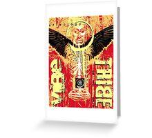 tribe shaman Greeting Card