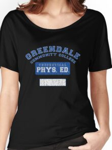 Greendale Theoretical Phys. Ed.  Women's Relaxed Fit T-Shirt