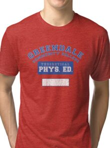 Greendale Theoretical Phys. Ed.  Tri-blend T-Shirt