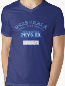 Greendale Theoretical Phys. Ed.  Mens V-Neck T-Shirt