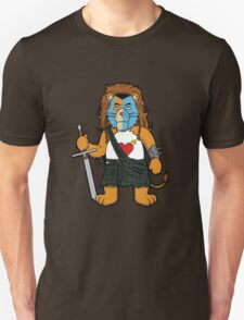Brave Of Heart Lion T-Shirt