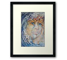 Waking up to Reality Framed Print