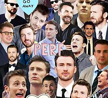 Chris Evans Collage by Jillsadetective