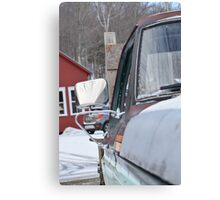 That's One Old Truck Canvas Print