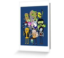 The Walking Dead Time Greeting Card