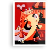 The Hundred and One Dalmatians Metal Print