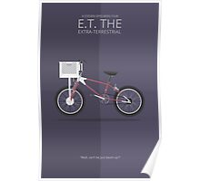 E.T. the Extra-Terrestrial - Vehicle Inspired Print Poster