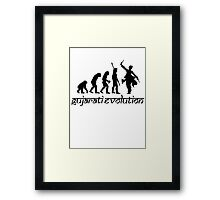 Gujarati Evolution  Framed Print