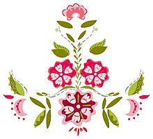 Flower Power - White Photographic Print