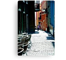 An Alley in Puerto Rico Canvas Print