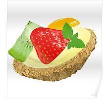 Fruit tart Poster