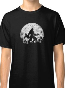 Werewolf vs Zombies Classic T-Shirt