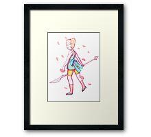 Pearl's Dance Framed Print