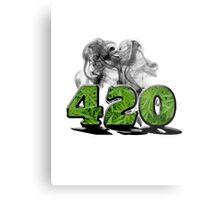 420 HAZE Metal Print